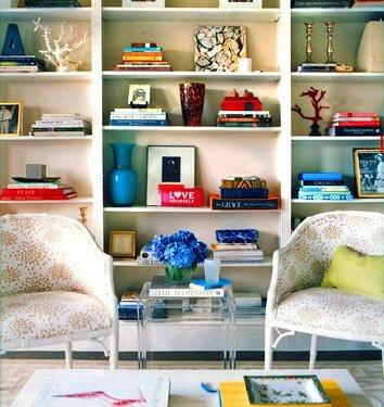 How To Decorate Bookshelves hannah parker home